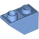 LEGO Medium Blue Slope 45° 2 x 1 Inverted (3665)