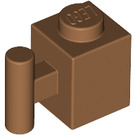 LEGO Medium Dark Flesh Brick 1 x 1 with Handle (2921 / 28917)