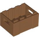 LEGO Medium Dark Flesh Crate (30150)