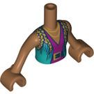 LEGO Medium Dark Flesh Friends Torso (35862 / 73141)