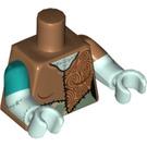 LEGO Medium Dark Flesh Sally Minifig Torso (16360)