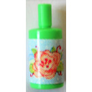 LEGO Medium Green Scala Bathroom Accessories Shampoo Bottle with Big Flower Sticker
