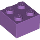 LEGO Medium Lavender Brick 2 x 2 (3003)