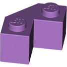 LEGO Medium Lavender Brick 2 x 2 Facet (87620)