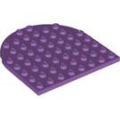 LEGO Medium Lavender Plate 8 x 8 1/2 Circle (41948)