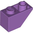 LEGO Medium Lavender Slope 45° 2 x 1 Inverted (3665)
