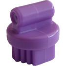 LEGO Medium Lavender Small Round Grooming Brush (92355)