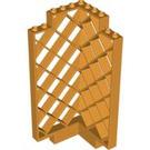 LEGO Medium Orange Panel 6 x 6 x 12 Corner Lattice (30016)