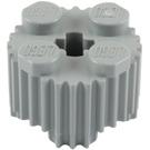 LEGO Medium Stone Gray Brick 2 x 2 Round with Grille (92947)