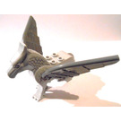 LEGO Medium Stone Gray Buckbeak the Hippogriff with Dark Stone Gray Wings