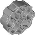 LEGO Medium Stone Gray Connector Round with Pin and Axle Holes (31511 / 98585)
