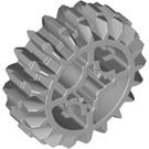 LEGO Medium Stone Gray Double Bevel Gear with 20 Teeth Unreinforced (32269)