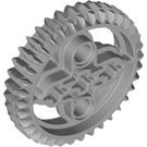 LEGO Medium Stone Gray Double Bevel Gear with 36 Teeth (32498)