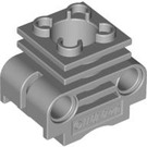LEGO Medium Stone Gray Engine Cylinder with Slots in Side (2850)
