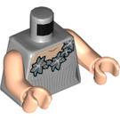 LEGO Medium Stone Gray Fleur Delacour Minifig Torso (76382)