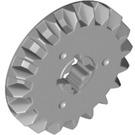 LEGO Medium Stone Gray Gear with 20 Teeth and Bevel (32198)