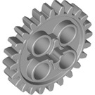 LEGO Medium Stone Gray Gear with 24 Teeth (3648)