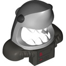LEGO Medium Stone Gray Great White Shark Mask (34120)