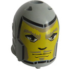 LEGO Medium Stone Gray Large Figure Head of Danju