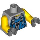 LEGO Medium Stone Gray Minifig Torso (76382)