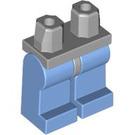 LEGO Medium Stone Gray Minifigure Hips with Medium Blue Legs (73200)