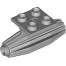 LEGO Medium Stone Gray Plate 2 x 2 with Jet Engine (4229)