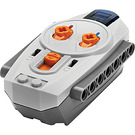 LEGO Medium Stone Gray Power Functions IR Remote Control with Dark Stone Gray Bottom (16514 / 58122)
