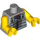 LEGO Medium Stone Gray Roman Soldier Torso (88585)