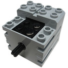 LEGO Medium Stone Gray Small Technic Motor 28 Grams
