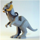 LEGO Medium Stone Gray Tauntaun (Short Hard Tail Tip)