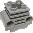 LEGO Medium Stone Gray Technic Engine Cylinder without Slots in Side (2850)