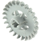 LEGO Medium Stone Gray Technic Gear 24 Tooth Crown with Reinforcements (3650)