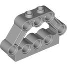 LEGO Medium Stone Gray V-engine Block Connector (32333)