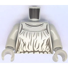 LEGO Medium Stone Gray Weeping Angel Torso