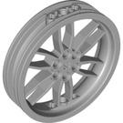 LEGO Medium Stone Gray Wheel 75 x 17mm (88517)