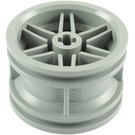 LEGO Medium Stone Gray Wheel Rim Ø30 x 20 with No Pinholes, with Reinforced Rim (56145)