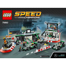 LEGO Mercedes AMG Petronas Formula One Team Set 75883 Instructions