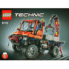 LEGO Mercedes-Benz Unimog U 400 Set 8110 Instructions