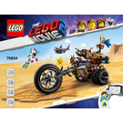 LEGO MetalBeard's Heavy Metal Motor Trike! Set 70834 Instructions
