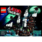 LEGO MetalBeard's Sea Cow Set 70810 Instructions