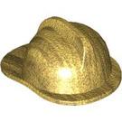 LEGO Metallic Gold Fire Helmet (15602 / 86649)