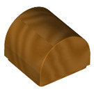 LEGO Metallic Gold Plate 1 x 1 with Rounded Top (66187)