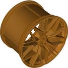 LEGO Metallic Gold Rim Wide Dia56 x 34 with 4.85 Bush (68577)