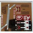 LEGO Metallic Gold Sticker Sheet for Set 7714 (59040)