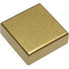 LEGO Metallic Gold Tile 1 x 1 with Groove (53836)