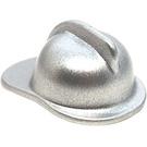 LEGO Metallic Silver Fire Helmet (15601 / 52545)