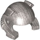 LEGO Metallic Silver Helmet with Coiks and Headlamp (88698)