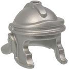 LEGO Metallic Silver Minifigure Galea Helmet (99583)