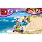 LEGO Mia's Beach Scooter Set 41306 Instructions