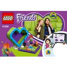 LEGO Mia's Heart Box Set 41358 Instructions